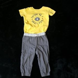 Carter's 24-month future draft pick outfit